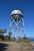 Wasserturm auf Alcatraz Island