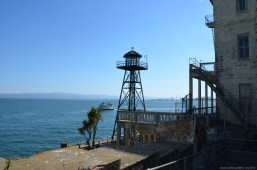 Alter Wachturm auf Alcatraz Island