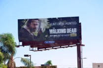 The Walking Dead Werbung in Los Angeles Downtown