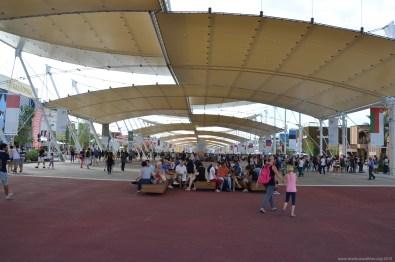 Expo 2015 Milano: Die Hauptstraße