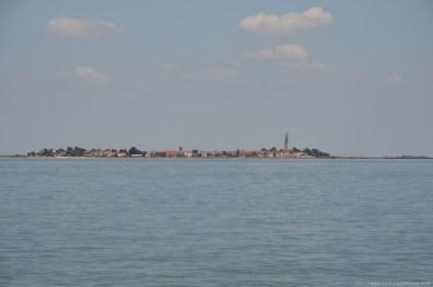 Blick auf Burano, Venedig, Italien