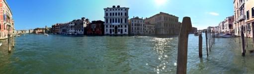 Panorama im Canal Grande in Venedig, Italien