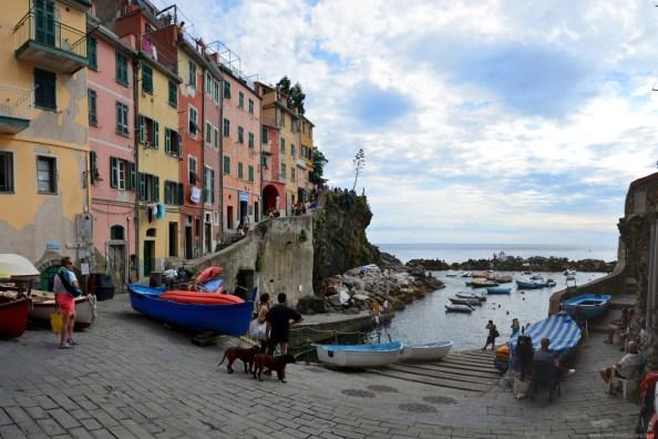 Die Bucht von Riomaggiore, La Spezia