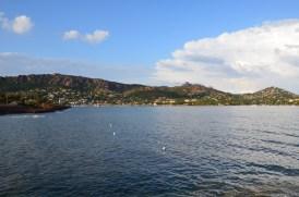 Blick auf die Côte d'Azur