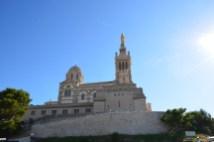 Am Fuße der Notre-Dame de la Garde