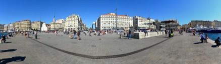Panorama am Hafen von Marseille