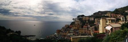 Panorama über Riomaggiore