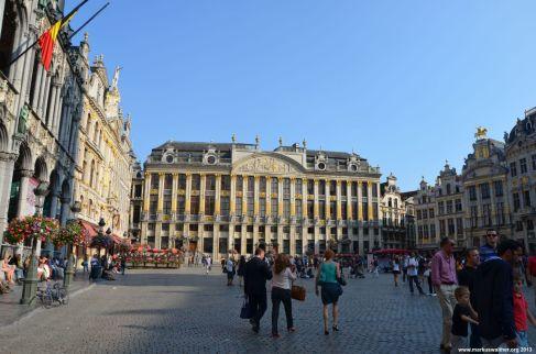 Südost-Seite des Grand Place Brüssel