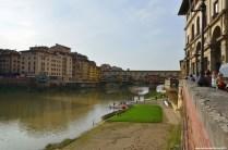 Blick auf Ponte Vecchio (Ostseite)