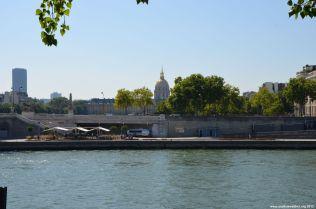 Dôme des Invalides von Pont Alexandre III