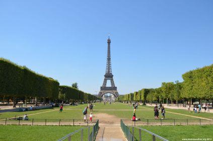 Champ de Mars und Eiffelturm