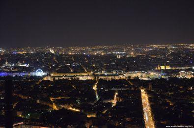 Louvre und Concorde vom Tour Montparnasse