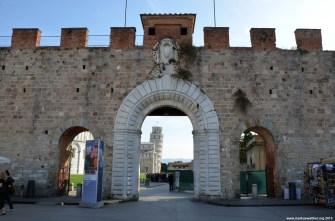 Stadtmauer von Pisa