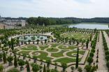 Orangerie und das Orangerieparterre auf Schloss Versailles