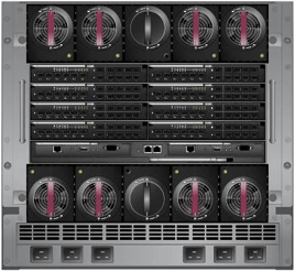 HP c7000 blade enclosure - rear
