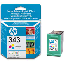 HP Vivera 343 ink cartridge
