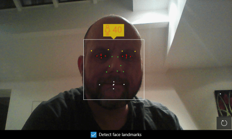 Azure Cognitive Services Face Detection