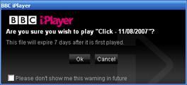 BBC iPlayer - expiry
