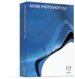 Adobe Photoshop CS3 box shot
