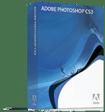 Adobe Photoshop CS3 box shot