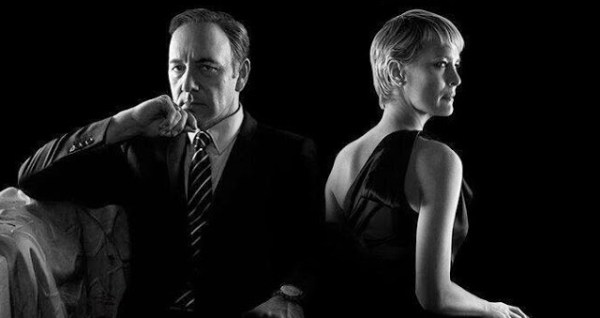 Kevin Spacey et Robin Wright dans House of Cards