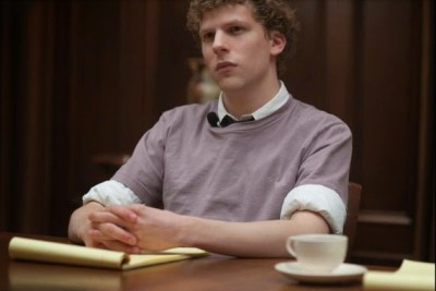 Jesse Eisenberg dans The Social Network, de David Fincher (2010)