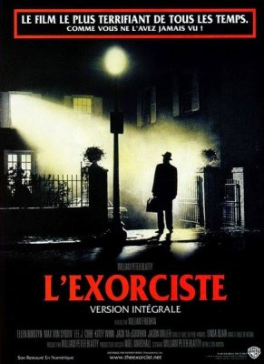 Affiche française de L'Exorciste, de William Friedkin (1973)