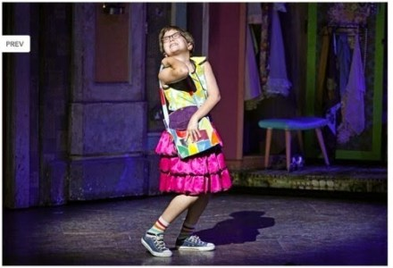Neil McCaffrey joue Michael dans Billy Elliot, le musical