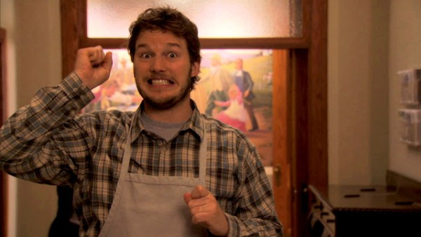 Chris Pratt joue Andy Dwyer dans Parks and Recreation
