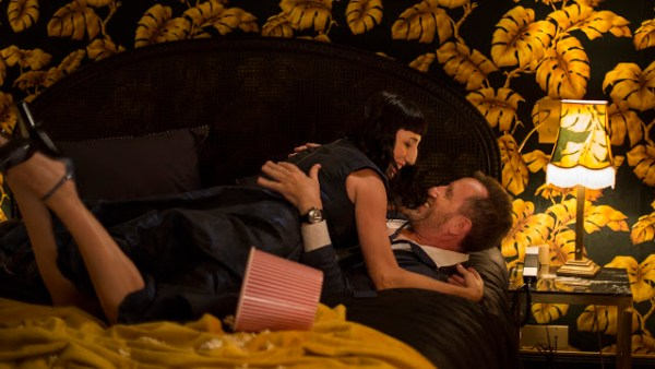Maria (Rossy de Palma) et David (Michael Smiley) dans Madame d'Amanda Sthers (2017)