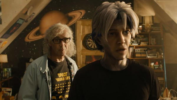 James Halliday (Mark Rylance) et Wade (Tye Sheridan) dans Ready Player One