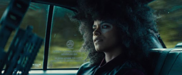 Domino (Zazie Beetz) dans Deadpool 2
