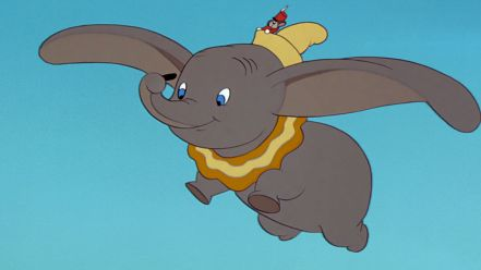 Dumbo dans la version de 1941, studios Disney