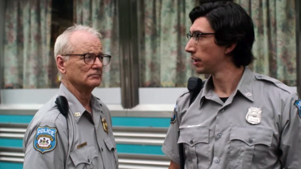 Bill Murray et Adam Driver dans The Dead Don't Die, de Jim Jarmusch