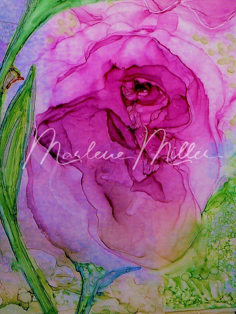 Abstract RoseBud