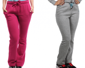 Uma calça esportiva que pode ser usada também para compor um conjunto de abrigo, uniforme pu um pijama com esquema de modelagem do 36 ao 56.