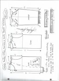 Esquema de modelagem de jaqueta masculina bomber, college, varsity ou americana tamanho M.