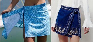 Optei para fazer a modelagem desta saia sem costuras laterais, inteira. Esquema de modelagem do PP ao EXGG.