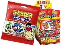 30pcs - Mini Sachet Carensac Haribo 40gr.