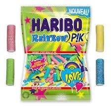 30pcs - Mini Sachet Rainbow Haribo 40gr.