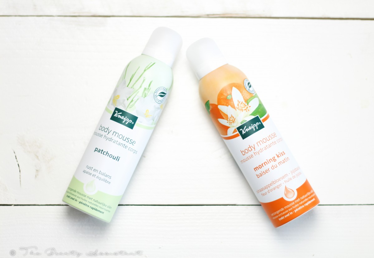 Kneipp Body Mousse Patchouli & Morning Kiss
