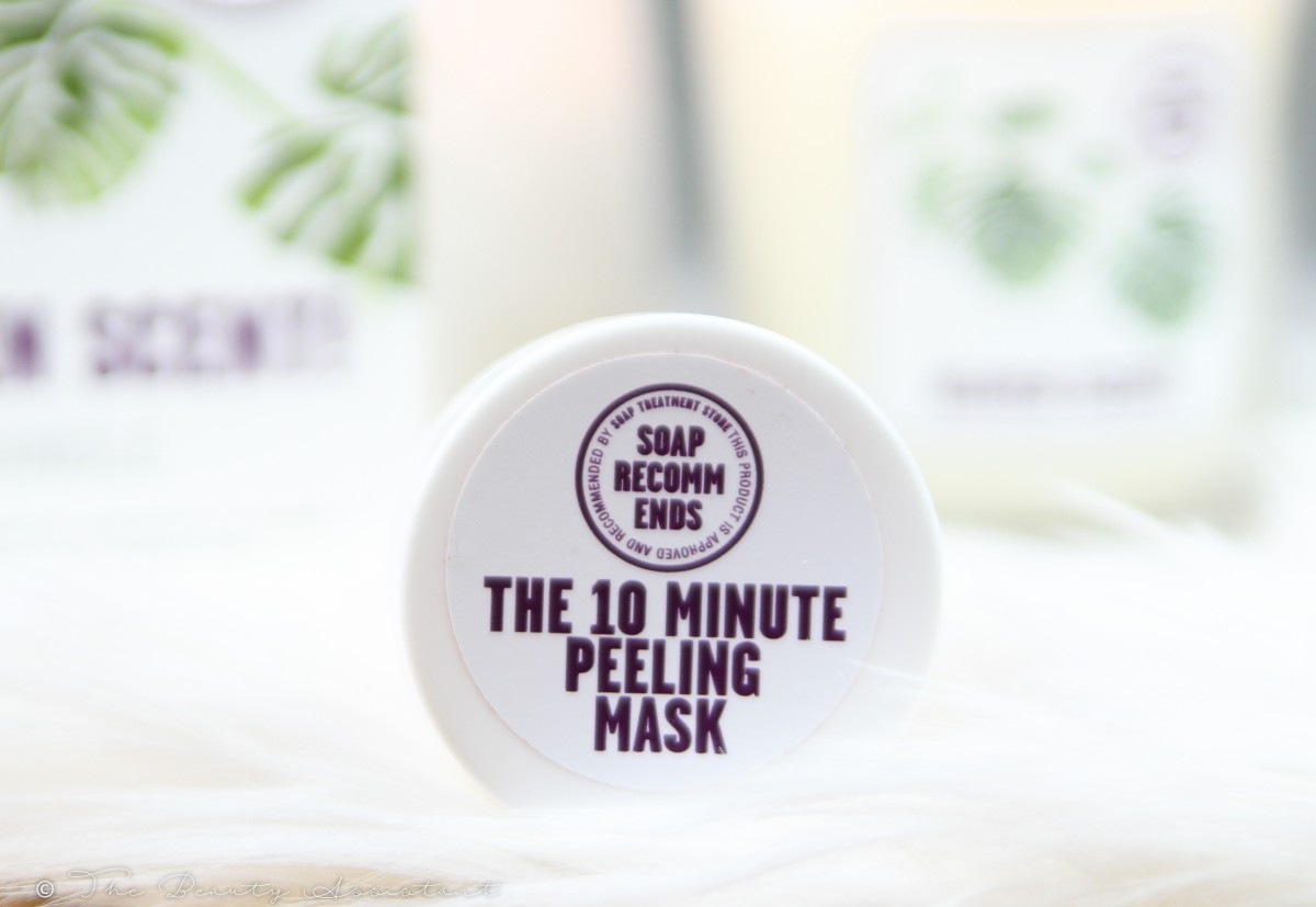 the 10 minute peeling mask