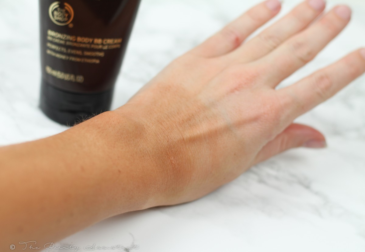 The Body Shop Body BB Cream Honey Bronze