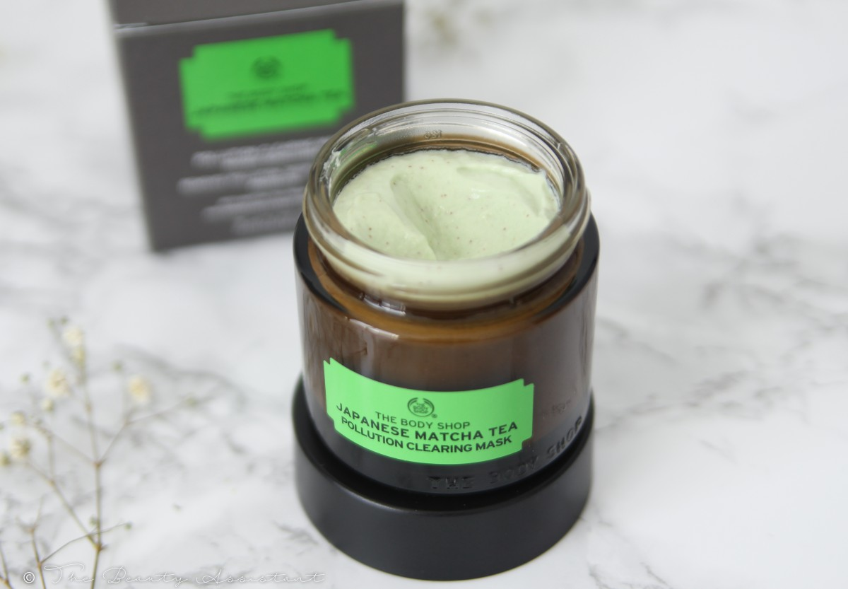 The Body Shop Japanese Matcha Tea Clearing Mask