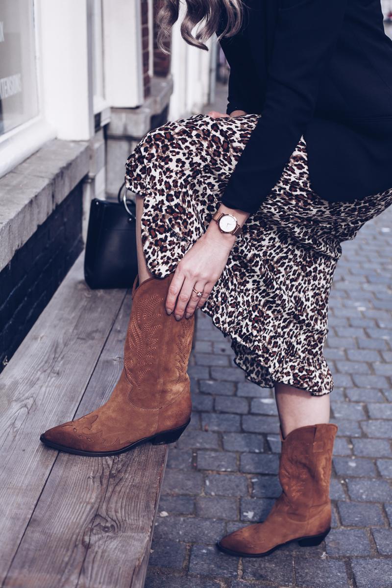 cowboy boots combineren