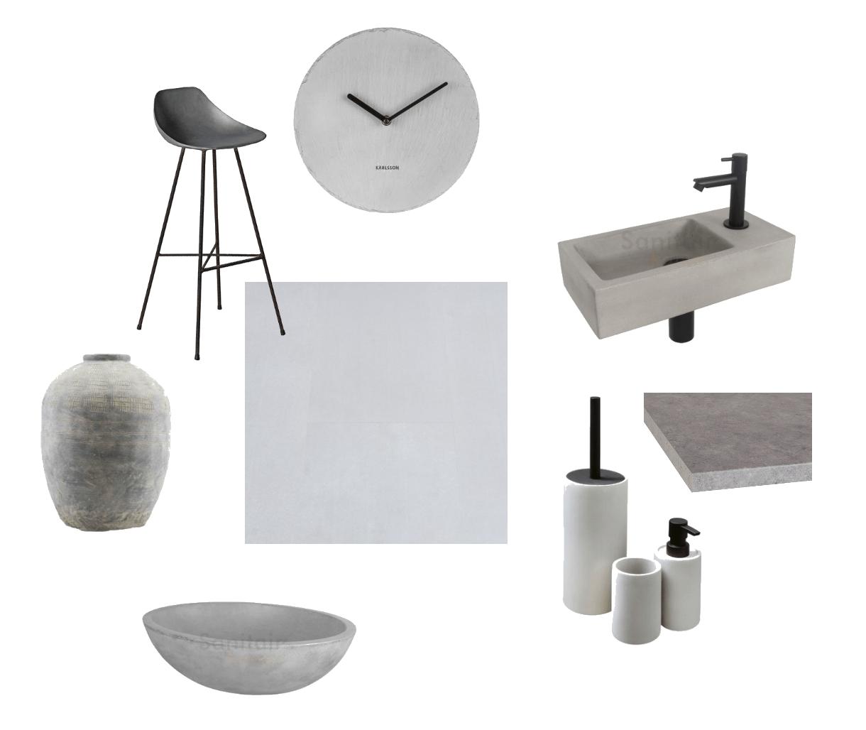 betonlook in je interieur verwerken