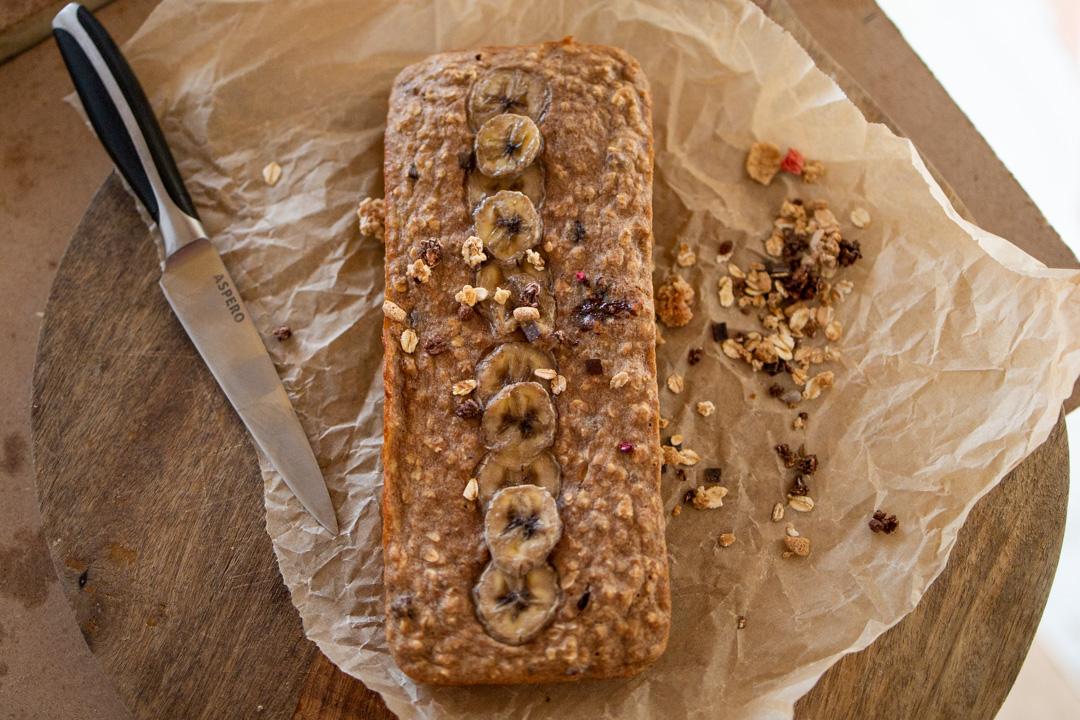 gezond bananenbrood zonder suiker