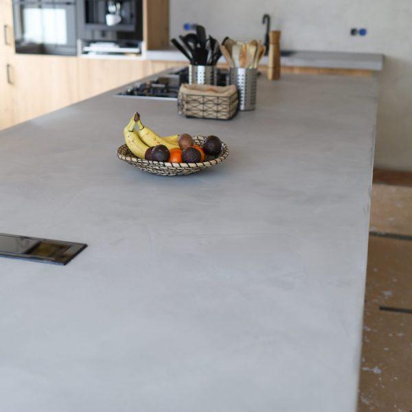 hoe maak je een betonnen aanrechtblad