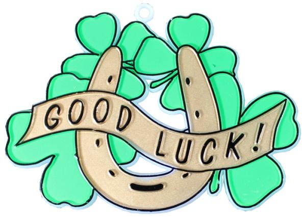 "MA2668 2 1/2"" x 3 1/4"" Good Luck Charm"