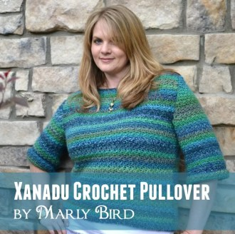 Xanadu Crochet Pullover by Marly Bird